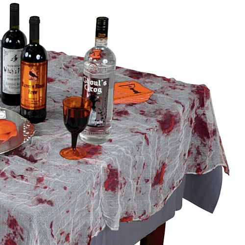 Bloody Gauze Tablecloth - 2.1m