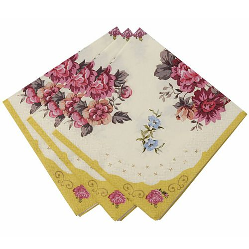 Truly Scrumptious Napkins - 25cm - Pack of 30