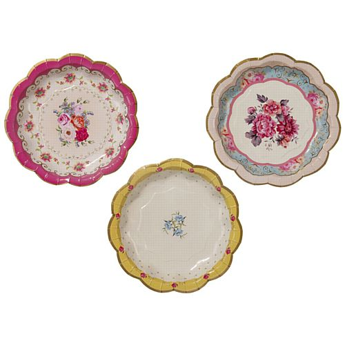 Truly Scrumptious Plates 17cm - Pack 12