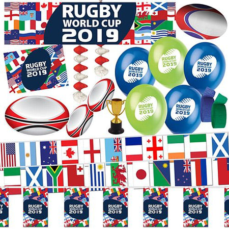 Rugby World Cup Decoration Pack