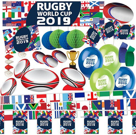 Large Rugby World Cup Decoration Party Pack