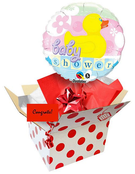 Click to view product details and reviews for Send A Balloon 18 Baby Shower Rubber Duckie.