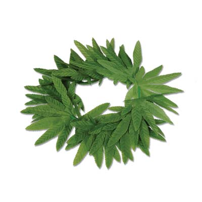 Tropical Fern Leaf Headband - 20""