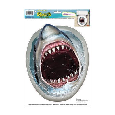 Click to view product details and reviews for Shark Toilet Topper Peel N Place 43cm.