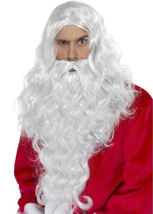 Santa Long Wig and Beard
