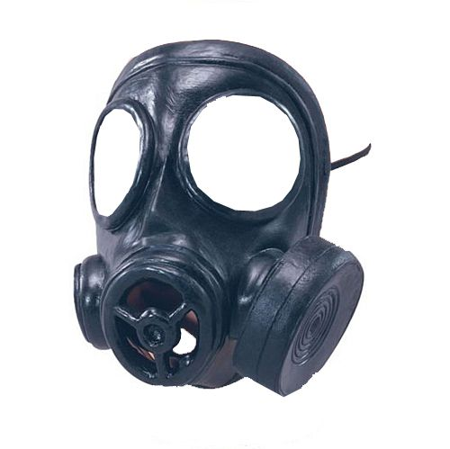Gas Mask - Rubber