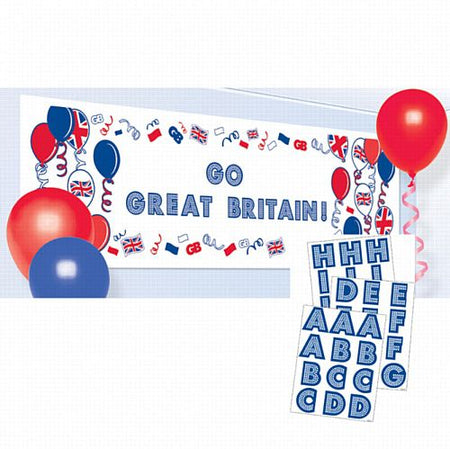 Great Britain Create Your Own Banner - 1.62m