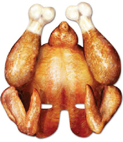 Click to view product details and reviews for Christmas Turkey Card Mask.