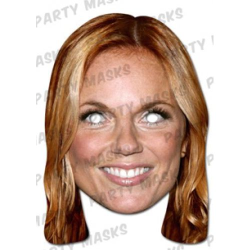 Geri Halliwell Card Mask