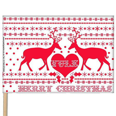 Christmas Table Flag 6