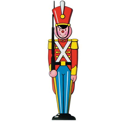 Toy Soldier Cutout - 90.2cm