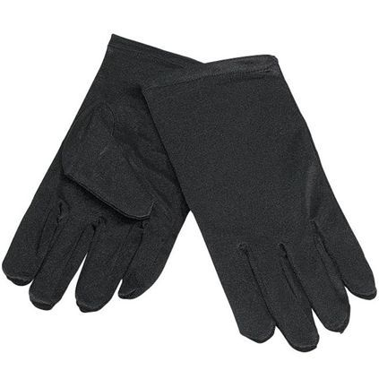 Children's Black Gloves