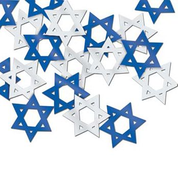 Star Of David Confetti - 1/2oz