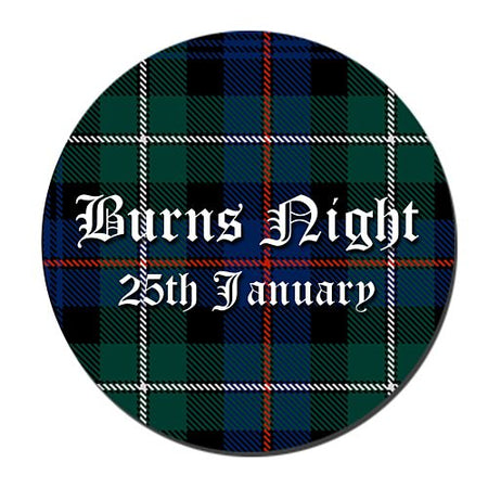 Click to view product details and reviews for Burns Night Badge 58mm Pinned Back Each.