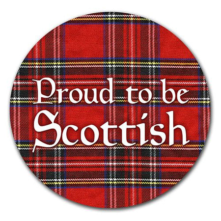 Click to view product details and reviews for Proud To Be Scottish Badge 58mm Pinned Back Each.