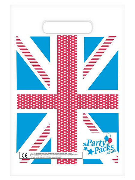 Vintage Britain Party Bags - 17cm x 26cm - Each