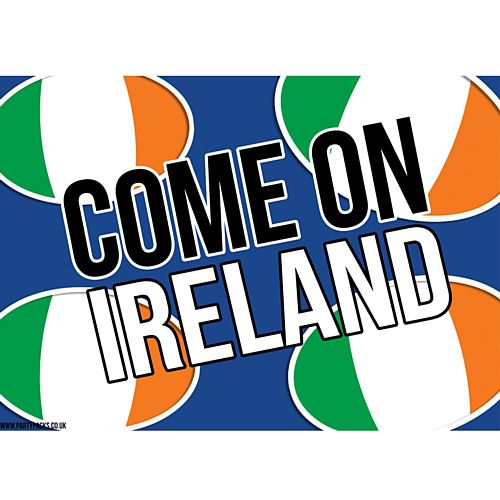 Come On Ireland Rugby Poster - A3