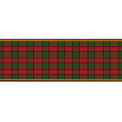 Tartan Paper Table Runner - 120cm x 30cm