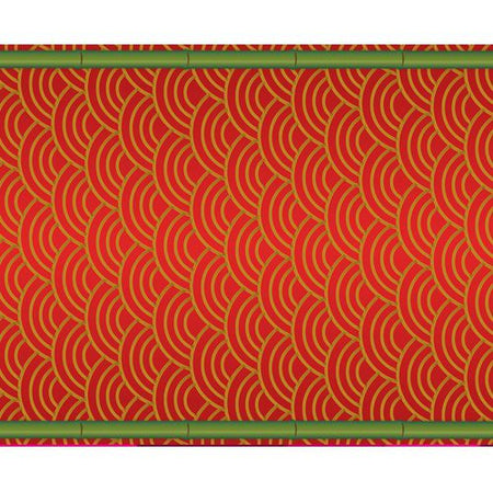 Click to view product details and reviews for Chinese Themed Paper Table Runner 120 X 30cm.