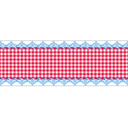Vintage Britain Paper Table Runner - 120cm x 30cm