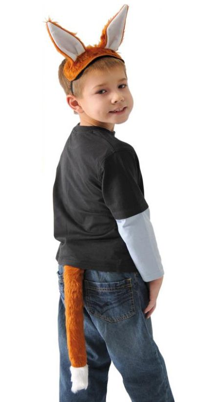 Fox Top n Tail Set (One Size)
