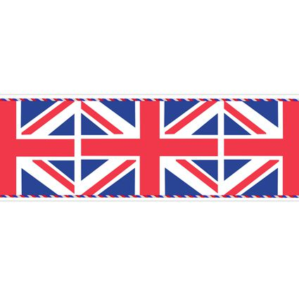 Union Jack Flag Table Runner - 1.2m - Each