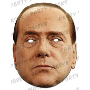 Silvio Berlusconi Card Mask