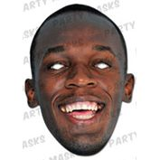 Usain Bolt Card Mask