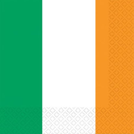 Irish Flag Luncheon Napkin - Pack of 16