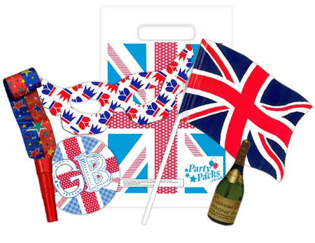 Ladies' British Party Bag and Fillers