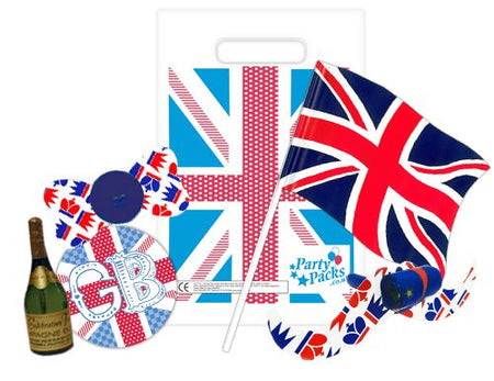 Gents' British Party Bag and Filler