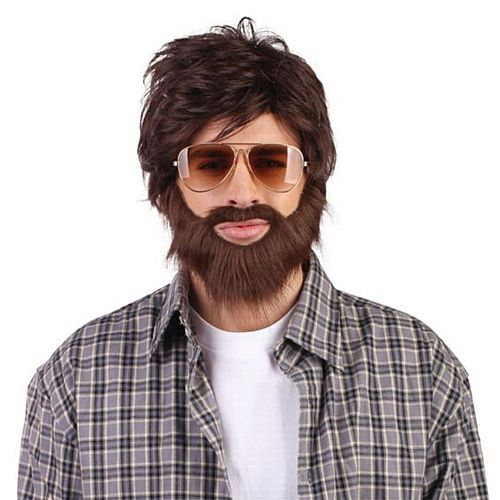 Hangover Wig and Beard