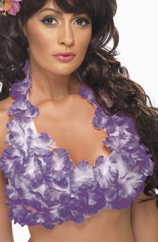 Hawaiian Bikini Top Assorted Colours - Each