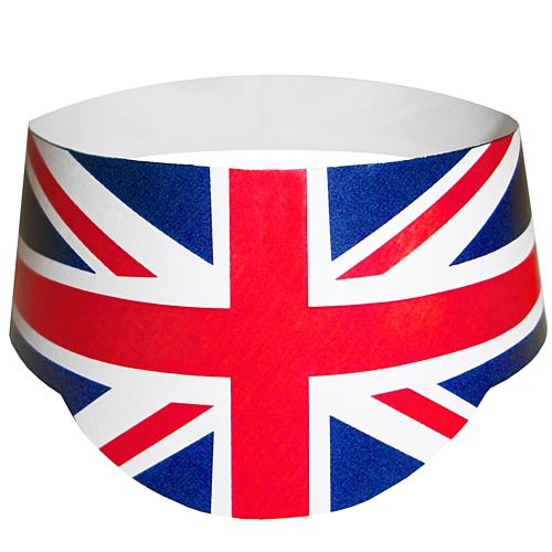 British Union Jack Peak Hat - Each