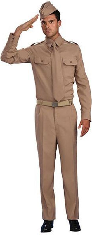 WWII Private Soldier Costume