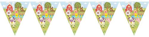 Farmyard Party Bunting - 3.6m