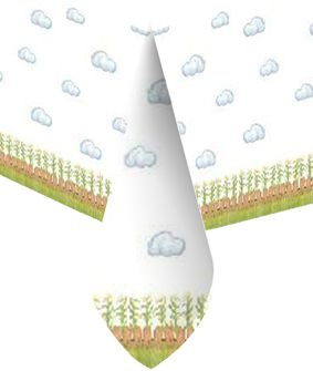 Click to view product details and reviews for Farmyard Party Tablecloth 18m.