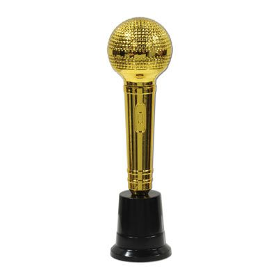 Microphone Award Trophy - 21.6cm