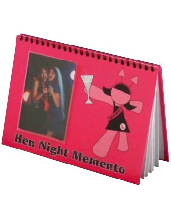 Click to view product details and reviews for Hen Night Keepsake Book Each.