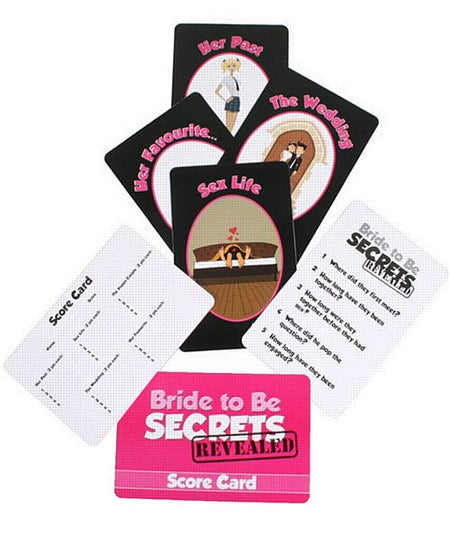 Bride To Be Secrets Revealed Game