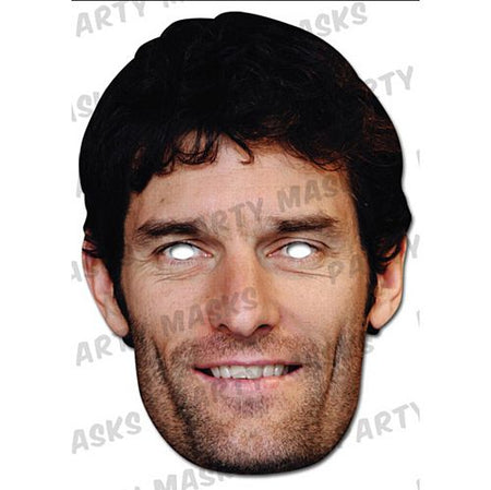Mark Webber Card Mask