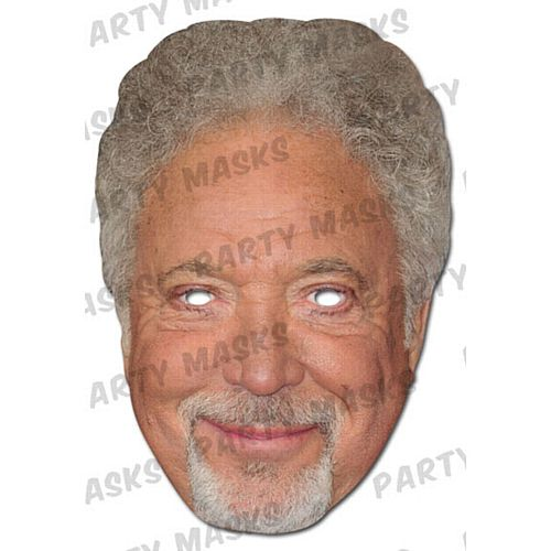 Tom Jones Card Mask