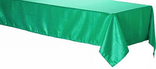 Green Foil Plastic Tablecloth - 2.75m