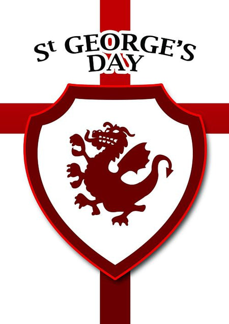 St. George's Day Dragon Poster - A3