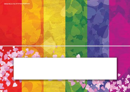 Rainbow Hen Night Placecards Pack Of 8