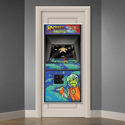 Arcade Game Door Cover - 1.52m