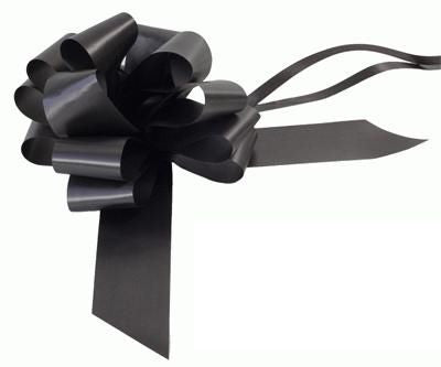 Black 12 Loop Pull Bow - 16.5cm - Each