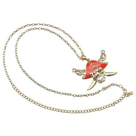 Click to view product details and reviews for Pirate Skull Necklace.