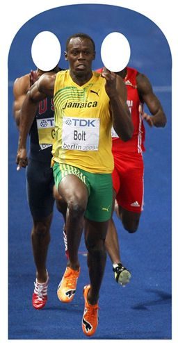 Usain Bolt Stand-In - 1.8m