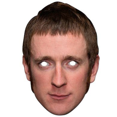 Bradley Wiggins Card Mask
